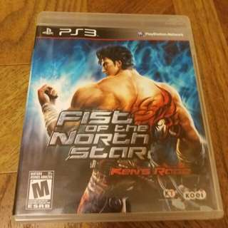 PS3 fist of the north star