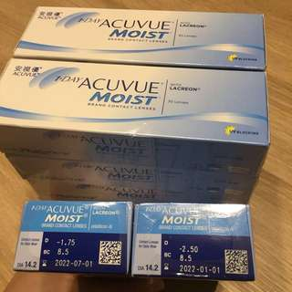 1 Day Acuvue Moist Contact Lens