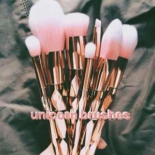 Unicorn Makeup Brushes (Set)