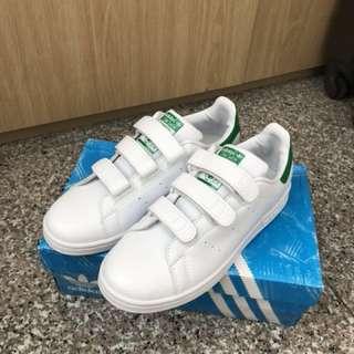 Adidas Stan Smith 女 綠尾 白鞋