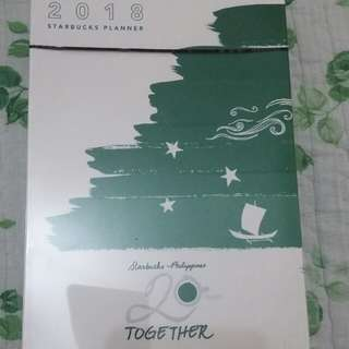 Repriced! Starbucks 2018 Planner Large (sealed)