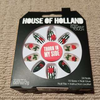 HOUSE OF HOLLAND fake nails- thorn in my side