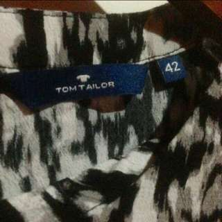 Blouse tom tailor black