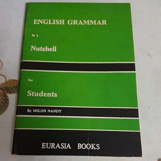 English Grammar in a nutshell for students