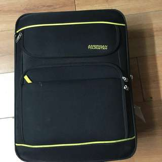 American tourister Expandable topaz luggage