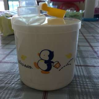 Milk powder container - 4 partitions