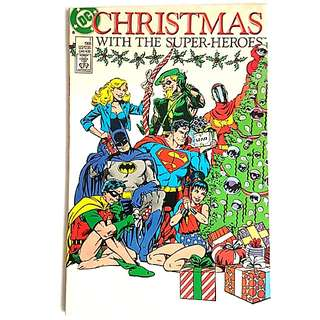 DC Comics Christmas with the Superheroes One Shot Very Fine Condition
