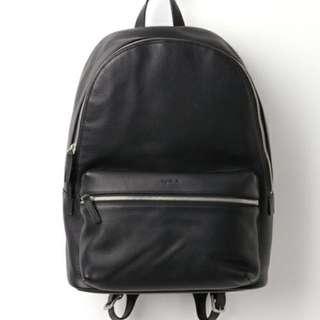 Agnes b cowhide backpack
