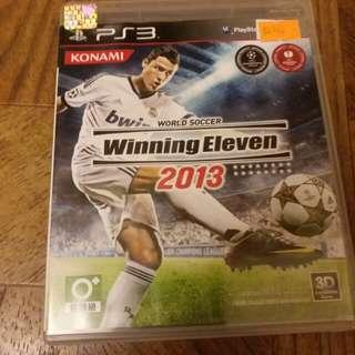 PS3 winning eleven 2013