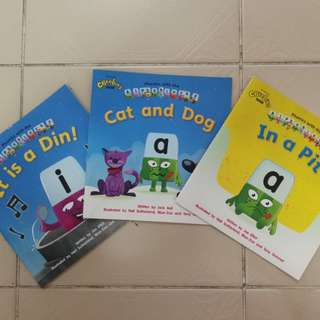 Alphablock Short Story Books
