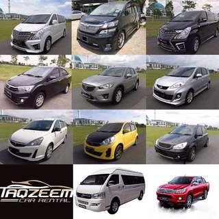 Taqzeem Car Rental JB