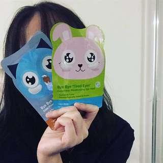Eye masks / facial masks