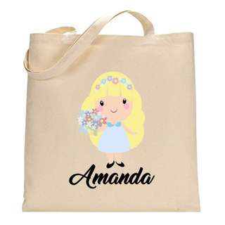 Custom Personalised Canvas Tote Bag