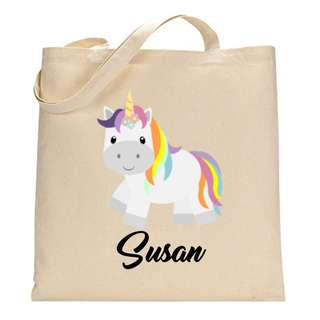 Custom Personalised Tote Bag