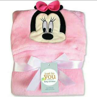 Character hooded baby towel