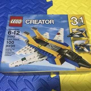 Lego Creator 3in1 Super Soarer 31042