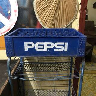 Pepsi bottle rack