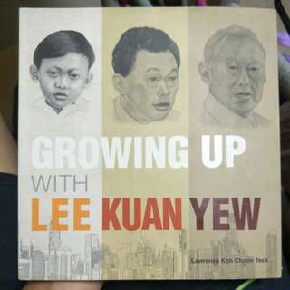 Growing up with lee kuan yew book