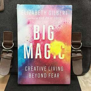 # Highly Recommended《Bran-New + Hardcover Edition + TED Talks Speaker On How To Live Creatively》Elizabeth Gilbert - BIG MAGIC : Creative Living Beyond Fear