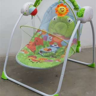 Baby Swing Cradle & Mosquito Net