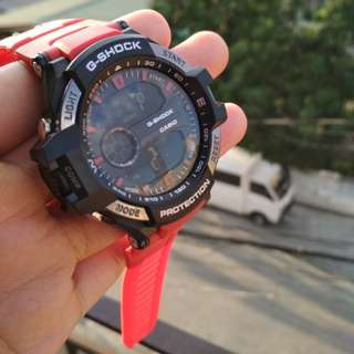 Multi Lighting Gshock Red