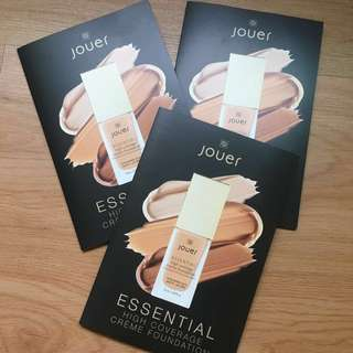 [Samples] Jouer Essential High Coverage Creme Foundation