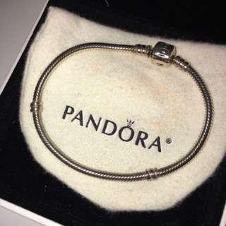Pandora bracelet (size 18)