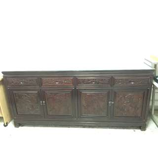 Genuine Rosewood Long Cabinet