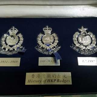 HK police 香港警察新舊警徽