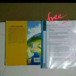 Free notes Latest upper secondary social studies textbook can wrap to hide missing front cover