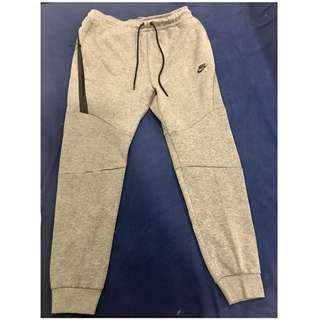 Nike全新運動棉褲(灰色)