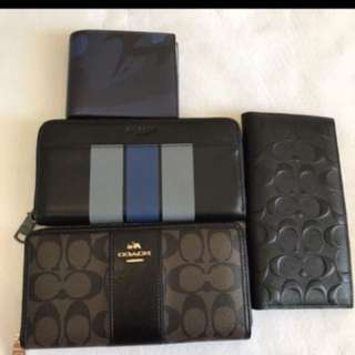 Ready Stock Authentic Coach Wallet Purse Pouch Coin Bag