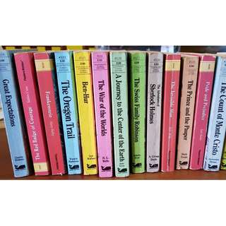 15 illustrated classic editions books (total 15 books)