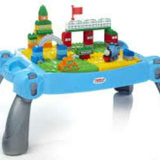 Mega Bloks Thomas & Friends Busy Day at Knapford Table Kids Building Set
