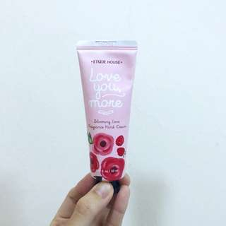 Etude House Love You More Floral Fruity Fragrance Handcream Hand Cream #Huat50Sale