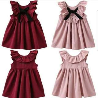 Girl Dress pink only