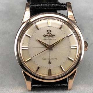 Omega Constellation 14381 紅金套