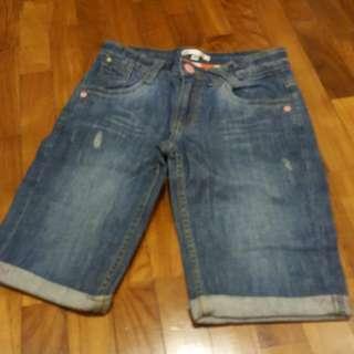 M&S denim shorts