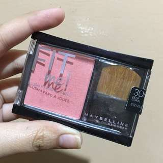 100% AUTHENTIC Maybelline Fit Me Blush in the shade DEEP CORAL