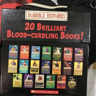 Horrible Histories Set of 20 books