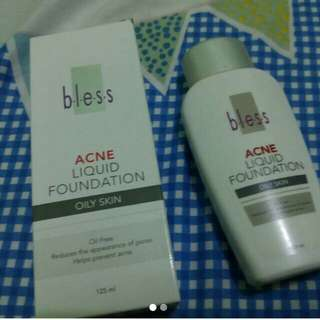 #CNY2018 BLESS ANTI ACNE LIQUID FOUNDATION