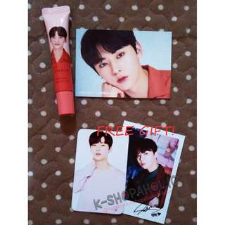 WANNA ONE INNISFREE MY LIPBALM ( DAEHWI ) + free gift ^^