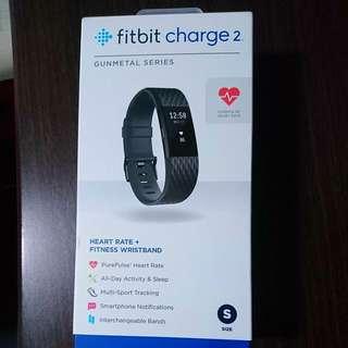 Fitbit Charge 2 Gunmetal Series