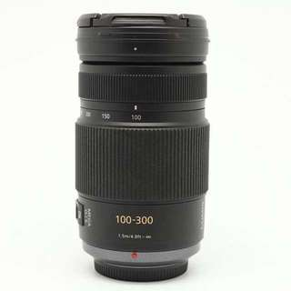 Panasonic 100-300mm Lumix telephoto zoom lens