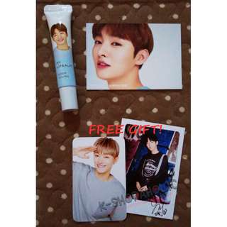 WANNA ONE INNISFREE MY LIPBALM ( JISUNG set ) + free gift ^^