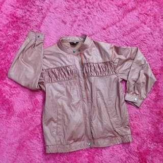 Jaket Pink Wanita Lady Fashion