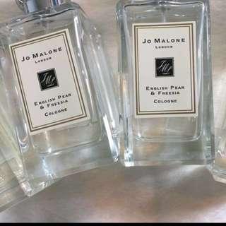 Authentic Jo Malone 100ML INSTOCK: English pear & Freesia )