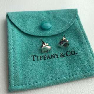 Tiffany heart earrings
