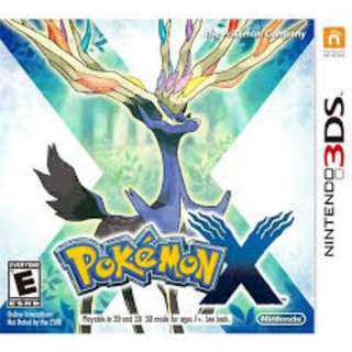 Pokemon X with competitive team + event pokemons