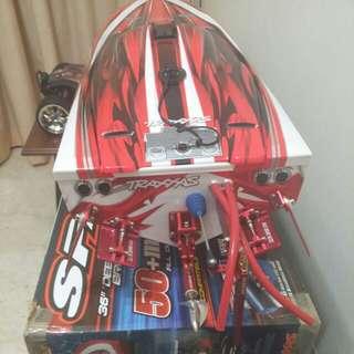 Traxxas Spartan Rc Boat